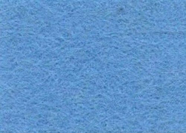 Viltlapjes viscose lichtblauw (10vel) 20x30cm - 1mm