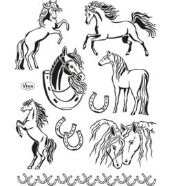 Clear Stamp Paarden