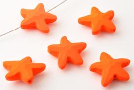 Zeester kralen Oranje