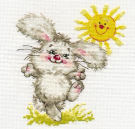 Borduurpakket The Sunniest Day! - Alisa