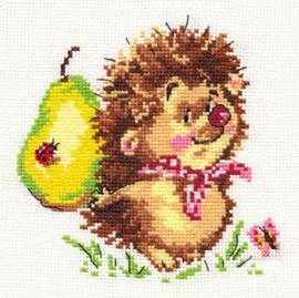 Borduurpakket Hedgehog - Alisa
