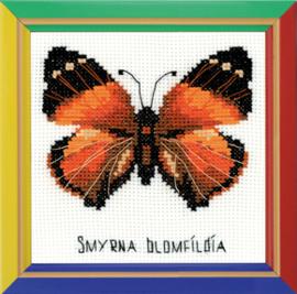 Borduurpakket Nymphalidae Butterfly - Riolis