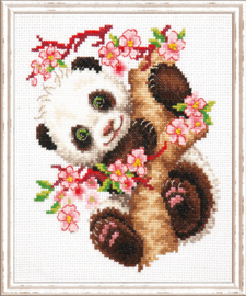 Borduurpakket Panda - Chudo Igla