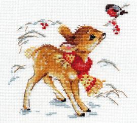 Borduurpakket Little deer - Alisa