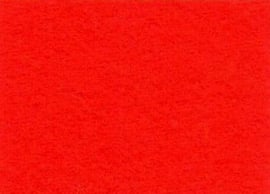 Viltlapjes viscose rood (10vel) 20x30cm - 1mm
