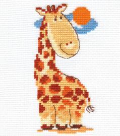Borduurpakket Giraffe - Alisa
