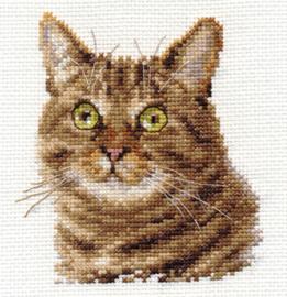 Borduurpakket European Cat - Alisa