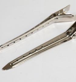 Metalen Haarklip Zilverkleurig