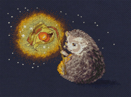 Borduurpakket Hedgehog's Night Light - Panna