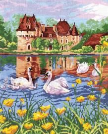 Borduurpakket Swan Lake - Chudo Igla