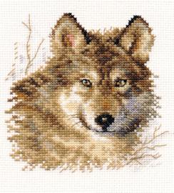 Borduurpakket Wolf - Alisa
