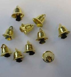 Klokjes Goud - 15mm