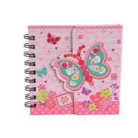 Magnetisch Notitieboekje Vlinder
