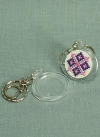 Plexiglas sleutelhanger eend - The Stitch Company