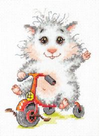 Borduurpakket My bike - Chudo Igla