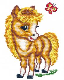 Borduurpakket Merry horse - Chudo Igla