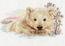 Borduurpakket Northern Bear cub - Alisa
