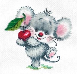 Borduurpakket Ripe cherry - Chudo Igla