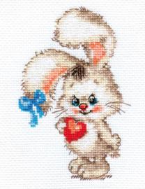 Borduurpakket For my bunny - Alisa