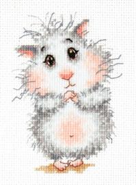 Borduurpakket Buy a hamster, please! - Chudo Igla