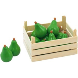 Houten Peren In Kist