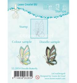 Clear Stamp Vlinder
