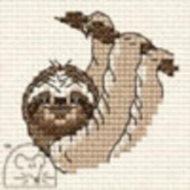Borduurpakket Sloth - Mouseloft