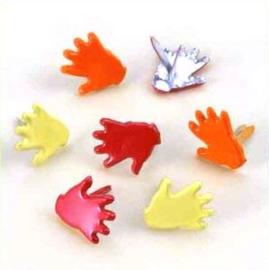 Handjes Splitpennen - Geel, Oranje