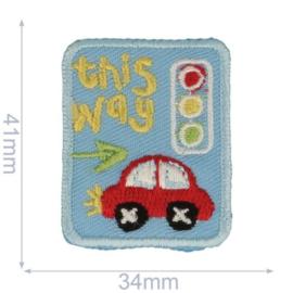 Applicatie Auto Met Verkeerslicht