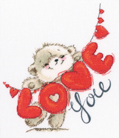Borduurpakket I Love You - rto