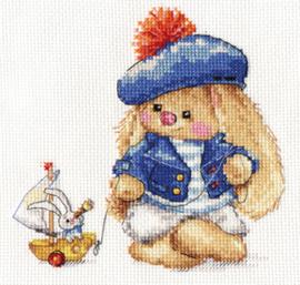 Borduurpakket Sailor - Alisa