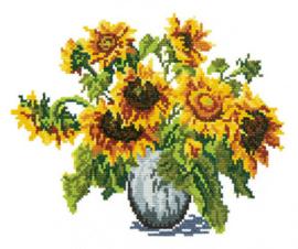 Borduurpakket Sunflowers - Chudo Igla