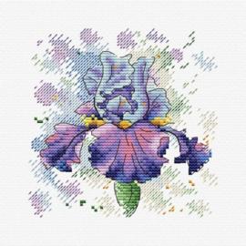 Borduurpakket Lush Iris - mp studia
