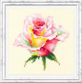 Borduurpakket Blooming Rose - Chudo Igla