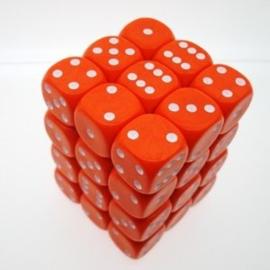 Oranje Dobbelstenen - 12mm