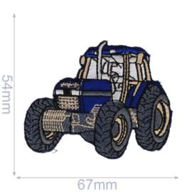 Applicatie Blauwe Traktor