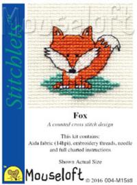 borduurpakket Fox - MOUSELOFT