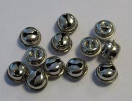 Kattebelletjes zilver - 13mm