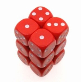 Rode Dobbelstenen - 16mm