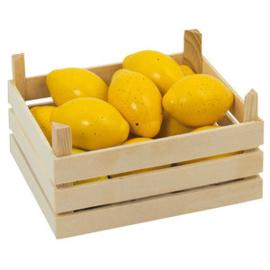 Houten Citroenen In Kist