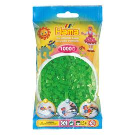 Hama Strijkkralen Groen Neon (037)
