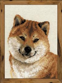Borduurpakket Japanese Husky - RIOLIS
