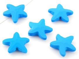 Zeester Kralen Donkerblauw