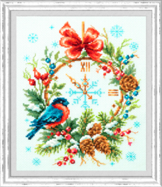 Borduurpakket Christmas Time - Chudo Igla