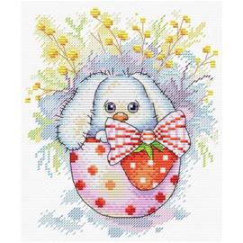 Borduurpakket Easter Rabbit - Mp Studia