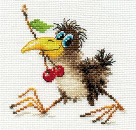 Borduurpakket Baby Crow - Alisa