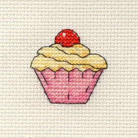 borduurpakket cupcake - MOUSELOFT