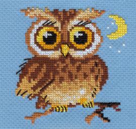 Borduurpakket Little Owl - Alisa