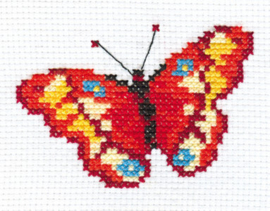 Borduurpakket Butterfly - Alisa