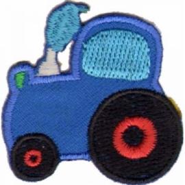 Applicatie Tractor Blauw